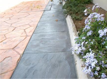 walkway slate